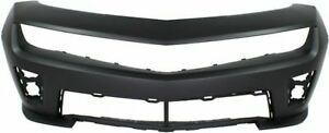 Primed Front Bumper Cover Gm1000931 For 2012 2015 Chevrolet Camaro