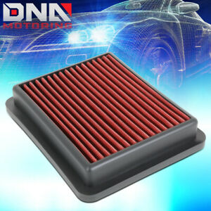 For 2018 2020 Honda Accord 1 5l Red High Flow Engine Drop in Air Filter Panel