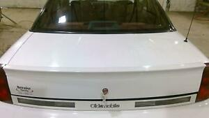 88 96 Oldsmobile Cutlass Coupe Trunk Deck Lid With Spoiler Pearl White 9753