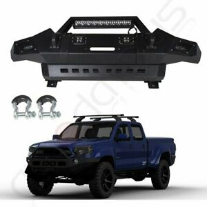 Front Bumper Guard For 13 15 Toyota Tacoma Complete Pickup Truck bright Light