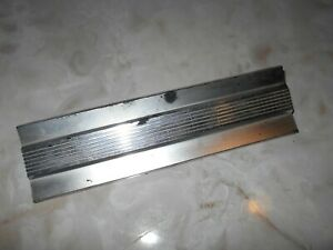 Nos Radio Delete Plate 1959 Ford Custom Fairlane Galaxie Casting 2703121 Jr 6