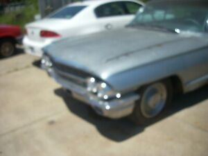 1961 1962 Cadillac Fleetwood Front Bumper Less Lower End Corners