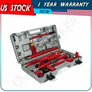 10 Ton Porta Power Hydraulic Jack Body Frame Repair Kits Auto Shop Tool Lift Ram