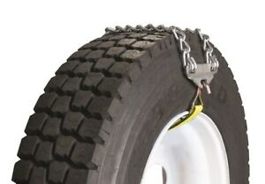 Emergency Chain With Web Fastener 2 Cross Chains 19 5 24 5 Truck Tire Chains