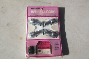 Nos Mcgard Wheel Locks For Long Mag Wheels Part 140 7 16 Amc Chevy Etc