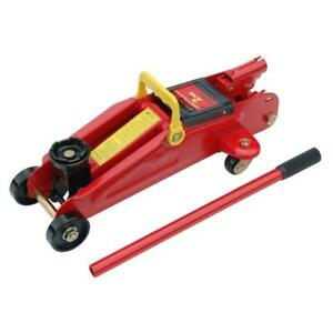 2 Ton Hydraulic Floor Trolley Jack Tonne Lifting Heavy Duty Car Van Lifting Kit