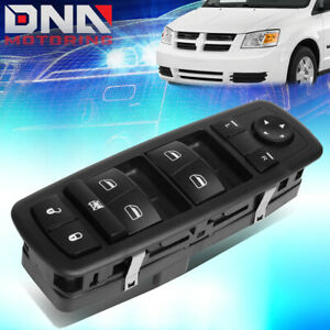 For 2008 2010 Town Country Driver Side Electric Power Window Control Switch Kit