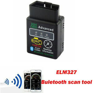 1pcs High Quality Obd2 Elm327 Bluetooth Diagnostic Scan Tool Suitable For Ford