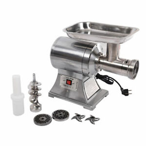 New Commercial Stainless Steel True 1hp Electric Meat Grinder No 12