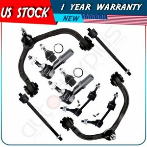10pc Front Rear Control Arm For 2004 Ford Expedition Lincoln Navigator K80718