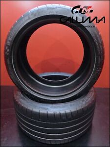 2 Two Excellent Tires Michelin 265 35 19 Zr Pilot Super Sport 98y Porsche 52216