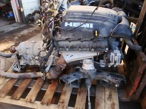 2016 Dodge Challenger Hemi 5 7 engine motor transmission liftout Drive Train