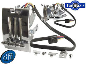 65 66 Mustang Heater Control Assembly W Knobs Switch New