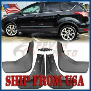 Us Fit Ford Escape Kuga 2013 2017 Mud Flaps Splash Guard Fender Front Rear Fm