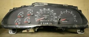 1999 2001 Ford F 550 Super Duty Instrument Gauge Cluster Speedometer Oem