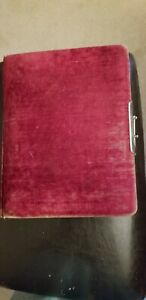 Antique Photo Album From Late 1800 S With Photos