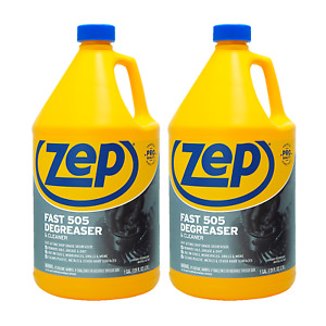 Zep Fast 505 Cleaner And Degreaser 1gal Zu505128 case Of 2 Industrial Strength