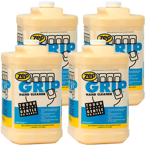 Zep Grip Hand Cleaner 308524 1 Gal case Of 4 Contains Aloe Vera
