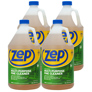Zep Pine Multi purpose Cleaner 128 Oz Zumpp128 case Of 4 Commercial Strength