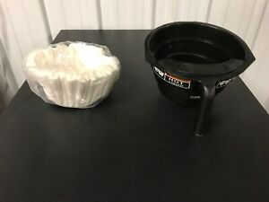 Bunn 03021 0008 Black Brew Funnel Basket For Itcb Brewers With Filter Pack