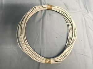 50ft Mil spec M27500 16ml2t Aircraft Cable Silver Ptfe 16 2 Wire