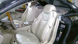 03 12 Mercedes Benz R230 Beige Heated Leather Seat Set Left Right Oem