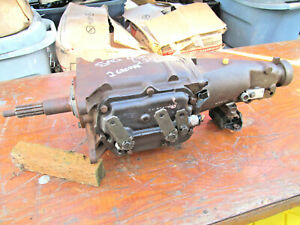 Vintage Saginaw 4sp Transmission 2 Groove Input Shaft 2 20 Ratio 2nd Gear