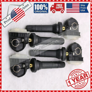 4x Tpms New Tire Pressure Sensors For 15 20 Ford F 150 Edge Mustang F2gz 1a189 A