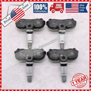 Qty 4 Tire Pressure Sensor Tpms For Toyota Tundra Only For Steel Wheels 40deg
