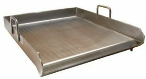 Stainless Steel Comal Flat Top Bbq Cooking Griddle For Stove Or Grill 16 X 18