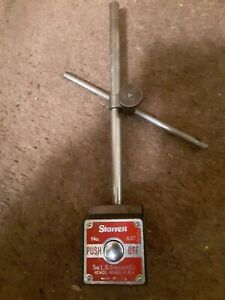 Starrett No 657 Magnetic Base For Dial Indicator And Measuring Devices