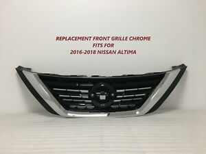 2016 2017 2018 For Nissan Altima Grille Chrome