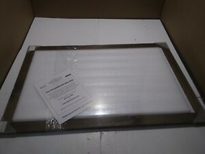 Excello Global Products 24x36 Dry Erase Magnetic White Board Rustic Wooden Frame