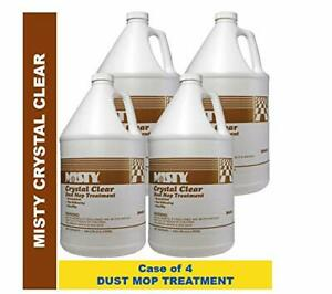 Misty Crystal Clear Dust Mop Treatment 1 Gal 1003411 case Of 4 Dust Magnet