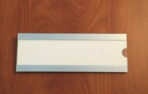 Office Cubicle Name Plate Holder Sign Workstation Sign Size 9 X 3