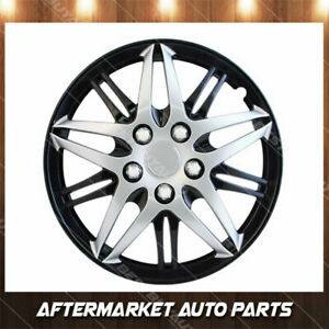 15 Black And Chrome Universal Fit Formula Wheel Covers