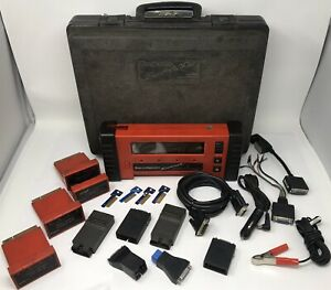 Snap On Mt2500 Diagnostics Scanner Bundle Read 1st