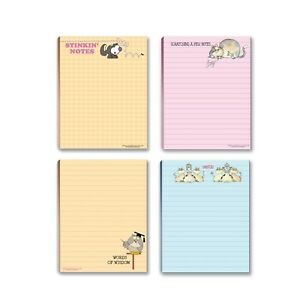Funny Attractive To do list Notepad 4 Assorted Pads 4 25 X 5 5 Inches 665