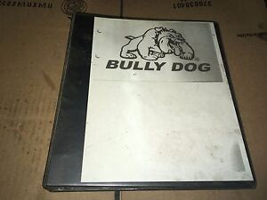 Bully Dog Performance Programmer Dodge Ford Gmc Gas Diesel Truck Catalog Info