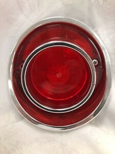 Vintage 1964 Chevy Impala Tail Light And Housing