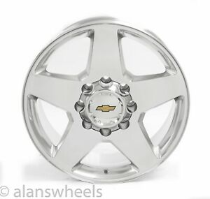 Chevy Silverado Hd 2500 3500 8 Lug 8x6 5 20 Polished Wheels Rims Suburban 5503