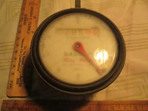 Vtg Badger Easy Read Brass Water Meter 31612 5 Milwaukee Usa