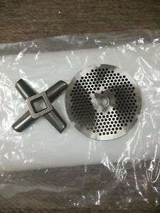 Size 32 Meat Grinder Plate With Blade 18 Inch Hole
