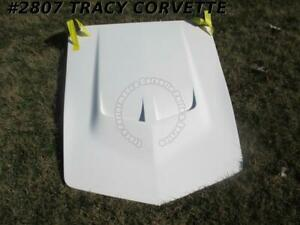 1968 1972 Corvette Lt 1 Style Hood in Stock lt1 454 Bb High Rise Fiberglass