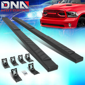 For 2009 2020 Dodge Ram Truck 5 Od Quad Cab Flat Running Board Step Nerf Bars