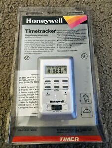 New Honeywell Timetracker Ultimate Electronic Wall Switch Timer Rated To 600w