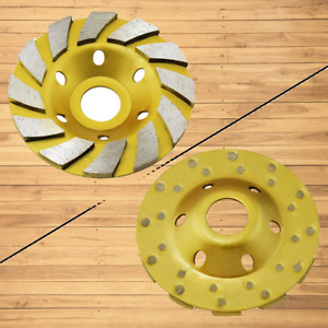 Grinding Cup Disc Wheel Angle Grinder 12segs B Floor Concrete Cement Ground Tile