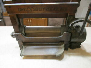Vintage Wooden Lovell S No Z780s Clothes Laundry Wringer Motor Powered Rare