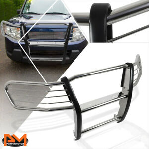 For 03 11 Honda Element Y1 h1 Stainless Steel Bumper Brush Grille Guard Chrome