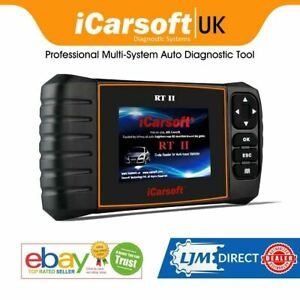 Renault Professional Multi System Diagnostic Fault Scanner Tool Icarsoft Rt Ii